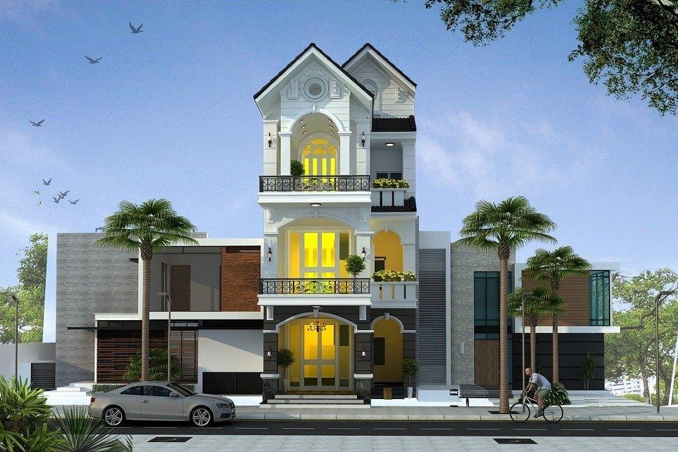 25 Ý tưởng thiết kế nhà phố 3 tầng đẹp khiến bạn nao lòng 10