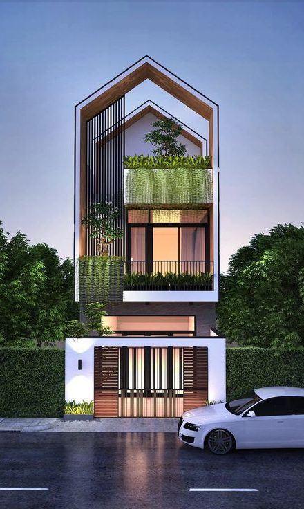 25 Ý tưởng thiết kế nhà phố 3 tầng đẹp khiến bạn nao lòng 9