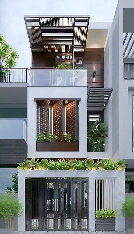 25 Ý tưởng thiết kế nhà phố 3 tầng đẹp khiến bạn nao lòng 8