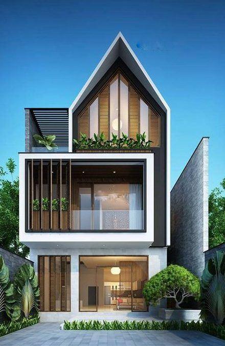 25 Ý tưởng thiết kế nhà phố 3 tầng đẹp khiến bạn nao lòng 7