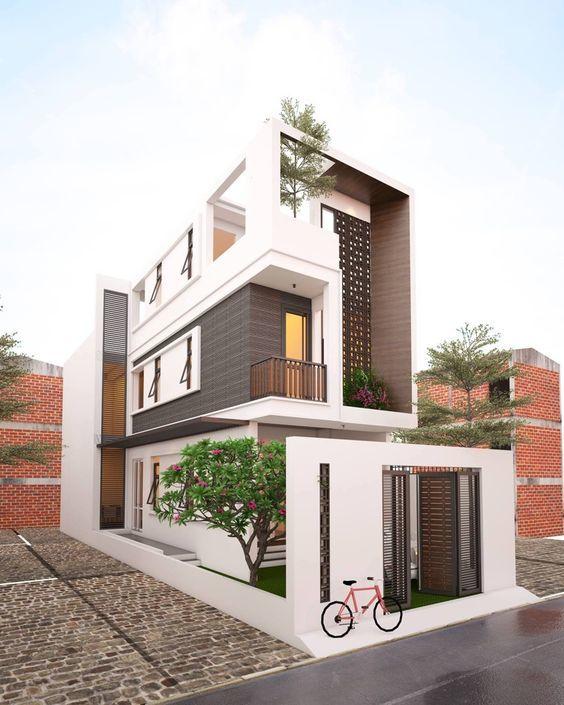 25 Ý tưởng thiết kế nhà phố 3 tầng đẹp khiến bạn nao lòng 23