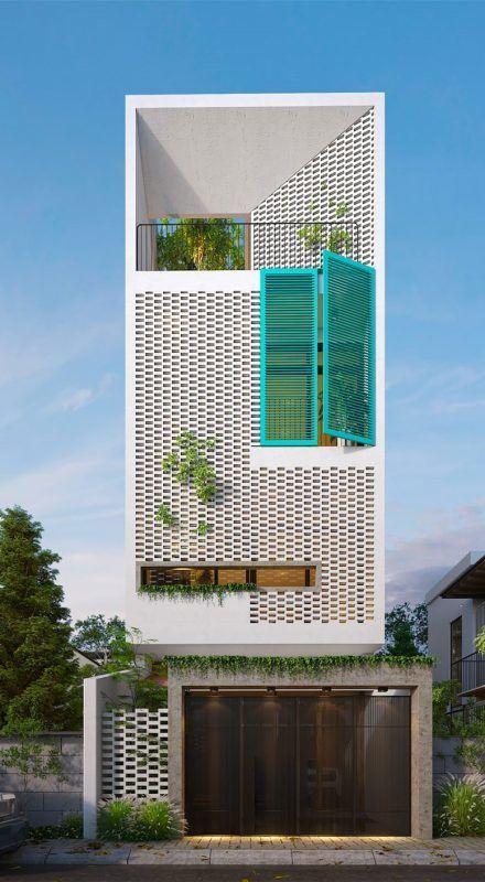 25 Ý tưởng thiết kế nhà phố 3 tầng đẹp khiến bạn nao lòng 5