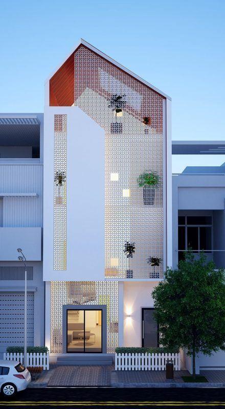 25 Ý tưởng thiết kế nhà phố 3 tầng đẹp khiến bạn nao lòng 4