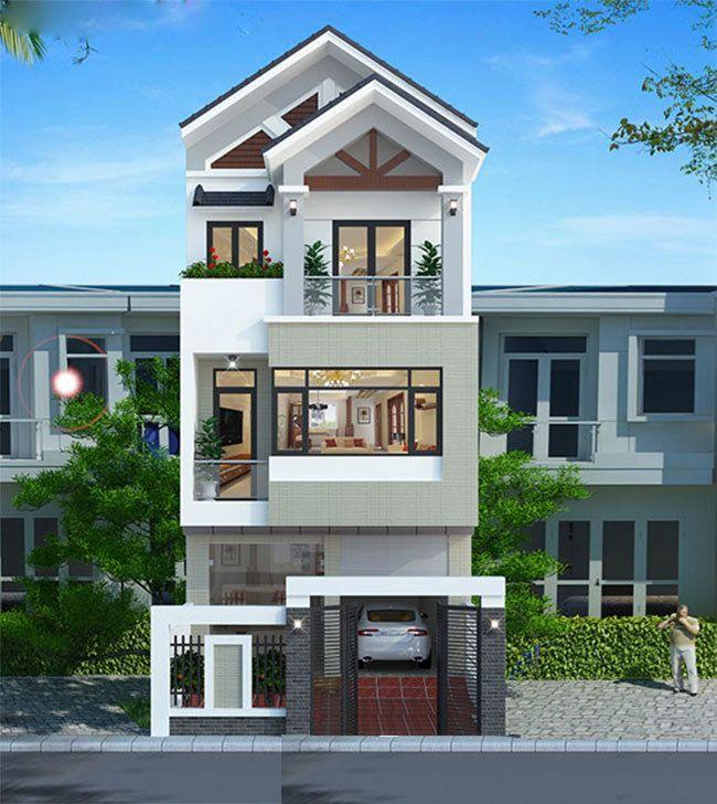25 Ý tưởng thiết kế nhà phố 3 tầng đẹp khiến bạn nao lòng 22