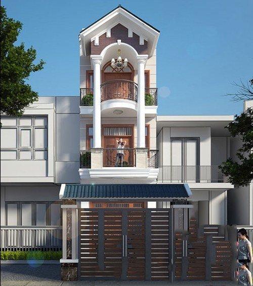 25 Ý tưởng thiết kế nhà phố 3 tầng đẹp khiến bạn nao lòng 2