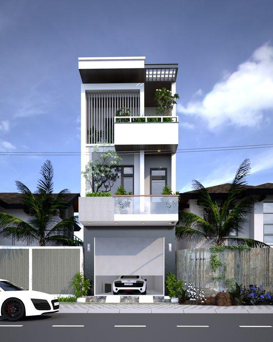 25 Ý tưởng thiết kế nhà phố 3 tầng đẹp khiến bạn nao lòng 20