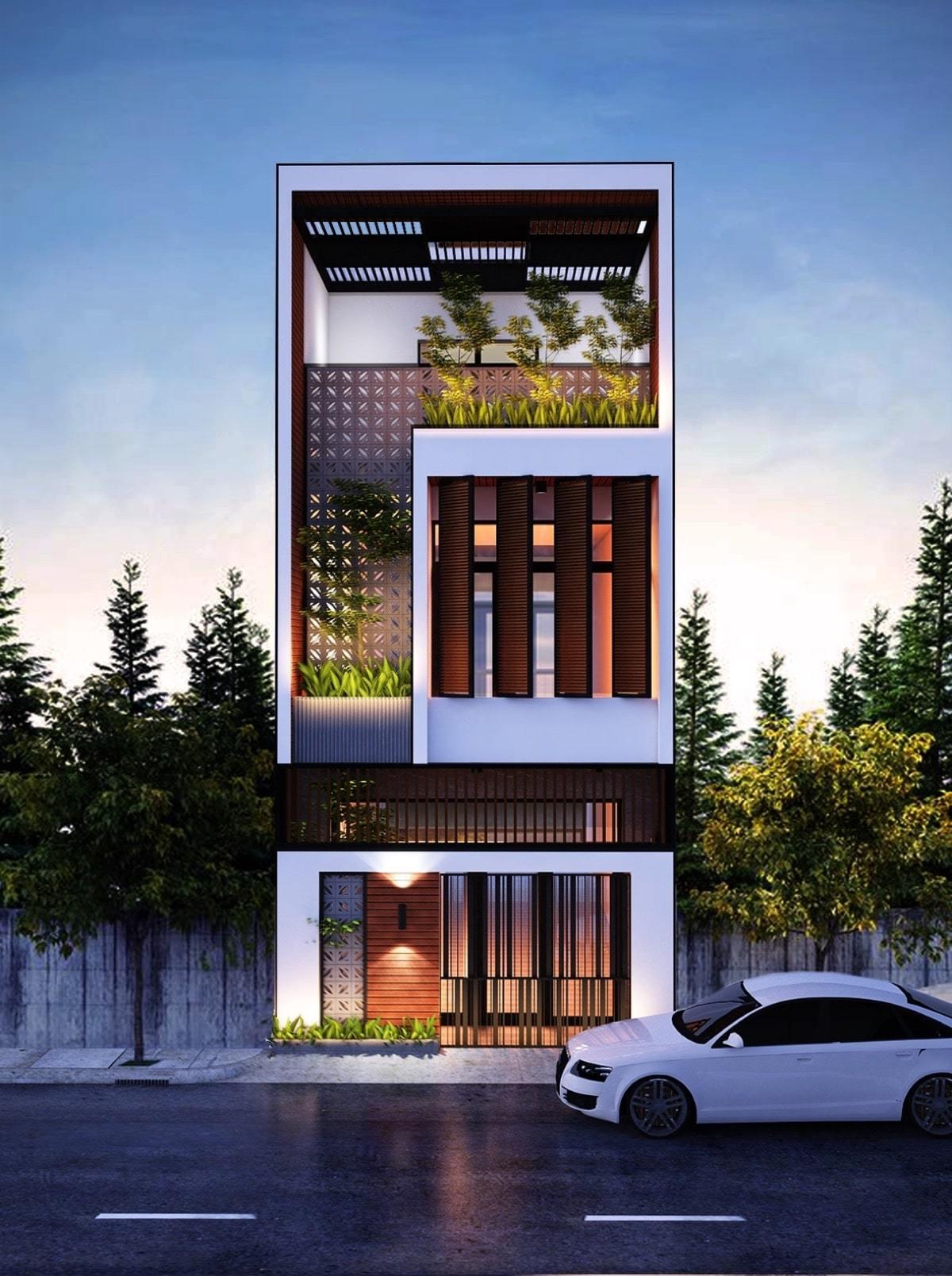 25 Ý tưởng thiết kế nhà phố 3 tầng đẹp khiến bạn nao lòng 18