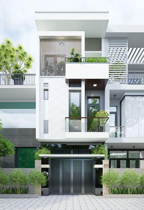 25 Ý tưởng thiết kế nhà phố 3 tầng đẹp khiến bạn nao lòng 17