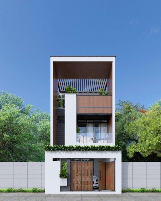 25 Ý tưởng thiết kế nhà phố 3 tầng đẹp khiến bạn nao lòng 16