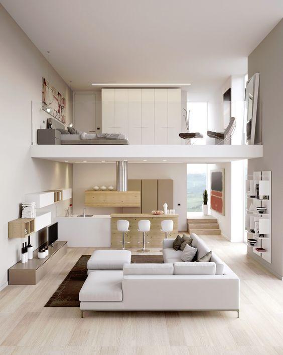 Thiết kế nhà cấp 4 gác lửng tối giản hiện đại