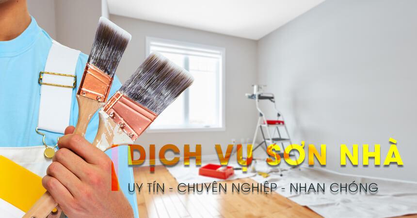 Dịch vụ sơn nhà TPHCM 1