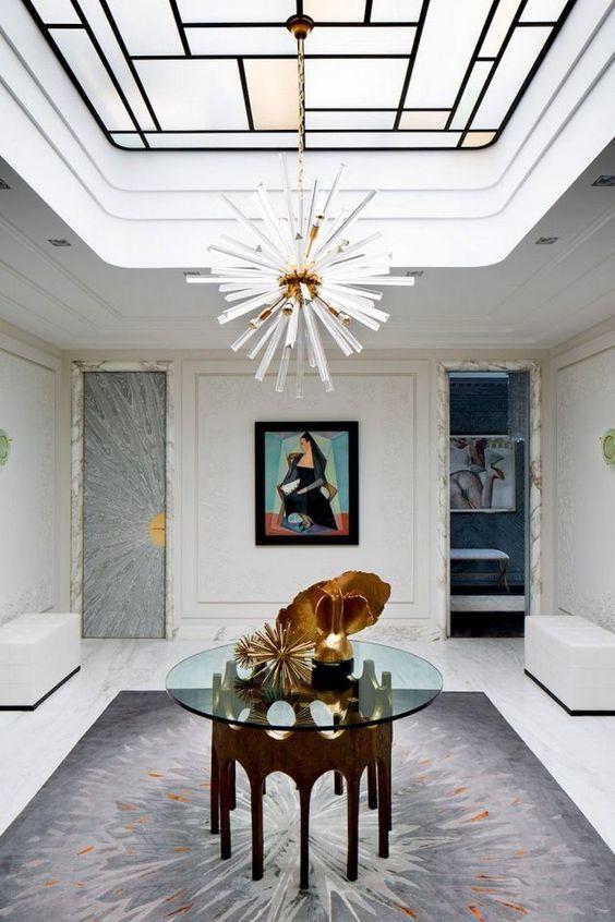 Thiết kế giếng trời trong phòng trưng bày