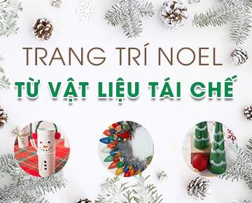 Ý tưởng trang trí Noel từ 10 loại vật liệu tái chế thường gặp 59