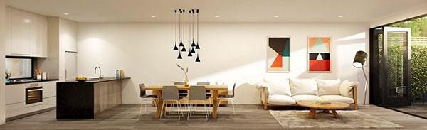Combo phòng khách kết hợp phòng ăn (Hình ảnh và mẹo thiết kế) 4