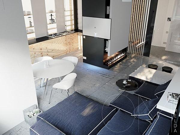 Combo phòng khách kết hợp phòng ăn (Hình ảnh và mẹo thiết kế) 6