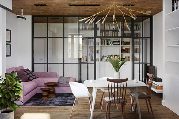 Combo phòng khách kết hợp phòng ăn (Hình ảnh và mẹo thiết kế) 7