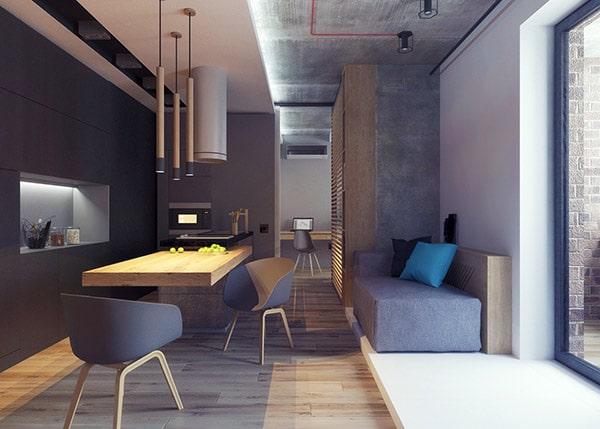 Combo phòng khách kết hợp phòng ăn (Hình ảnh và mẹo thiết kế) 14