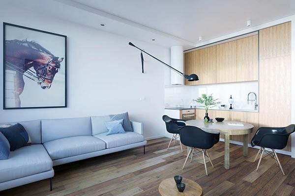 Combo phòng khách kết hợp phòng ăn (Hình ảnh và mẹo thiết kế) 15