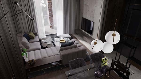 Combo phòng khách kết hợp phòng ăn (Hình ảnh và mẹo thiết kế) 16