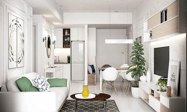 Combo phòng khách kết hợp phòng ăn (Hình ảnh và mẹo thiết kế) 19