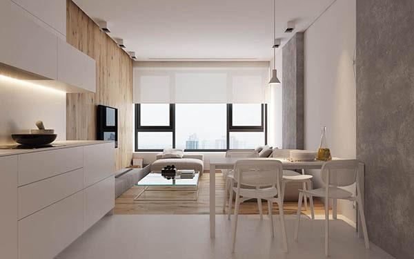 Combo phòng khách kết hợp phòng ăn (Hình ảnh và mẹo thiết kế) 22