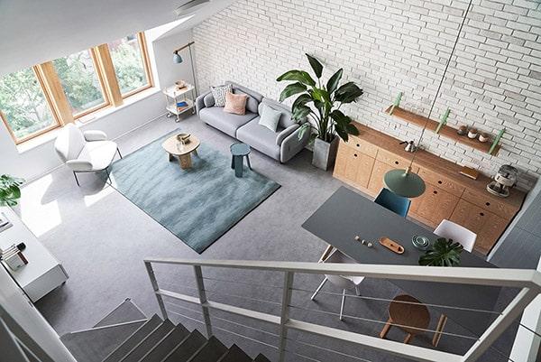 Combo phòng khách kết hợp phòng ăn (Hình ảnh và mẹo thiết kế) 25