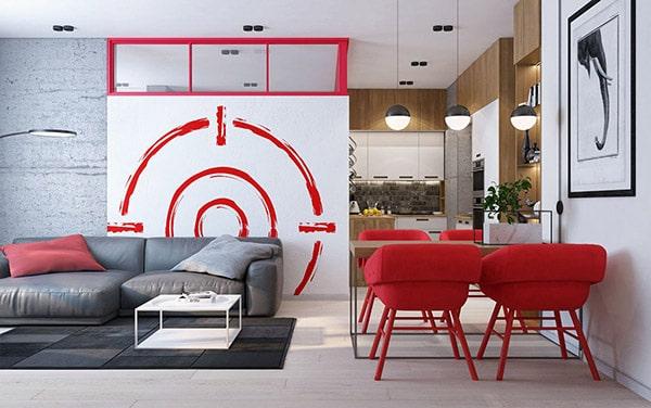 Combo phòng khách kết hợp phòng ăn (Hình ảnh và mẹo thiết kế) 28