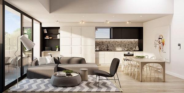 Combo phòng khách kết hợp phòng ăn (Hình ảnh và mẹo thiết kế) 3