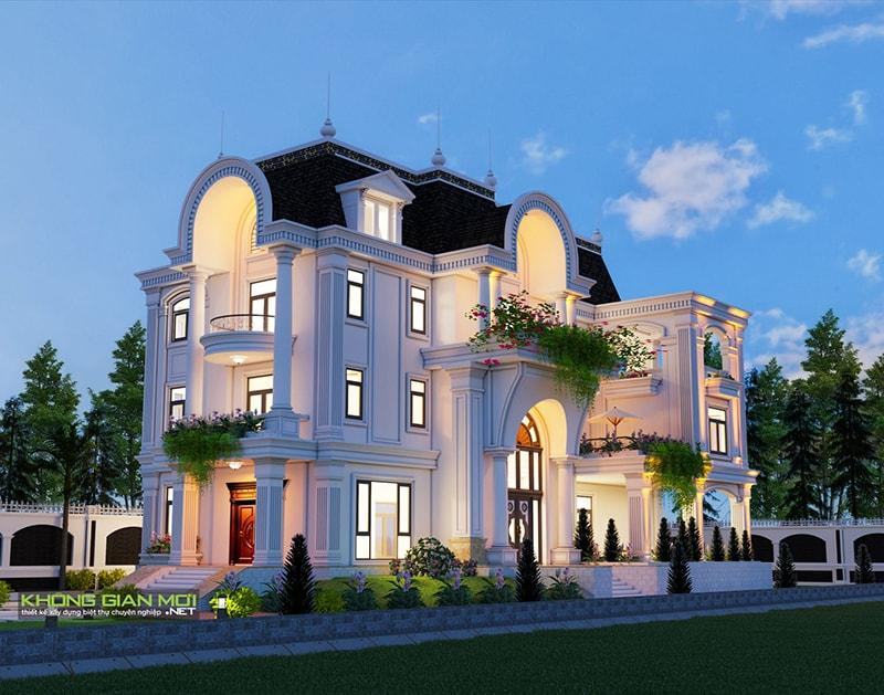 Chiêm ngưỡng 18 mẫu biệt thự cổ điển đẹp lộng lẫy 18