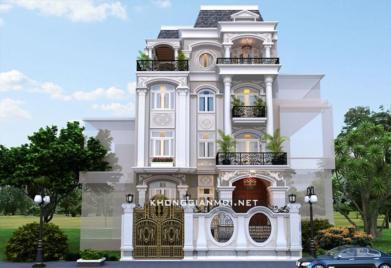 Chiêm ngưỡng 18 mẫu biệt thự cổ điển đẹp lộng lẫy 15