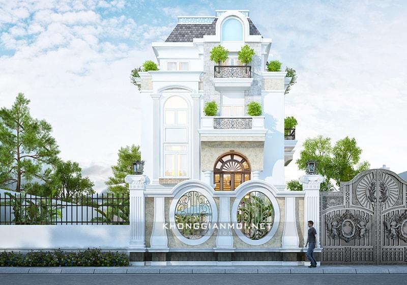 Chiêm ngưỡng 18 mẫu biệt thự cổ điển đẹp lộng lẫy 12