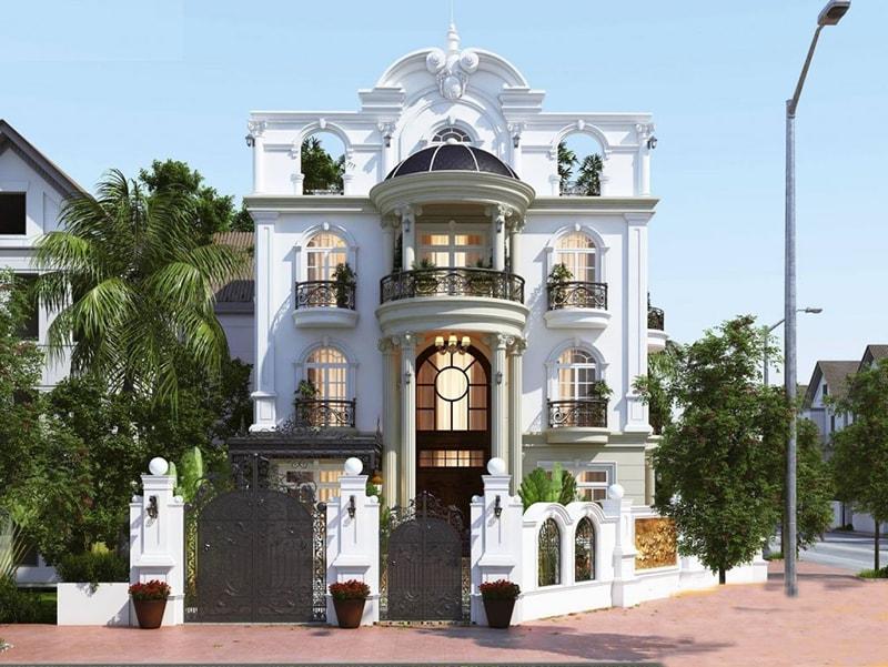 Chiêm ngưỡng 18 mẫu biệt thự cổ điển đẹp lộng lẫy 7