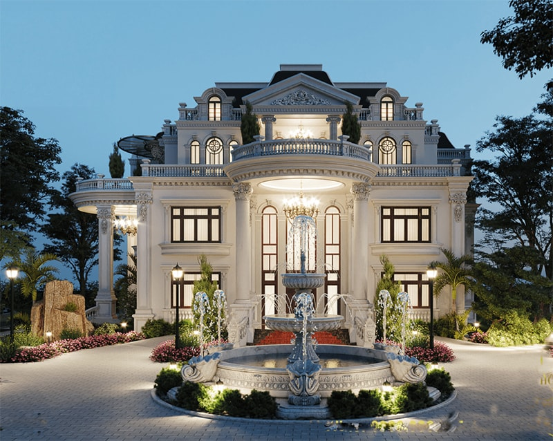 Chiêm ngưỡng 18 mẫu biệt thự cổ điển đẹp lộng lẫy 6