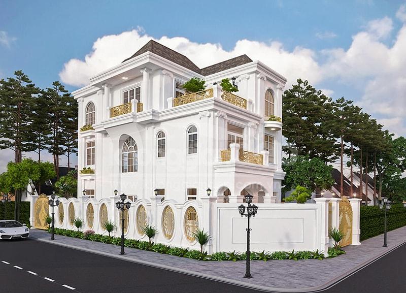 Chiêm ngưỡng 18 mẫu biệt thự cổ điển đẹp lộng lẫy 10