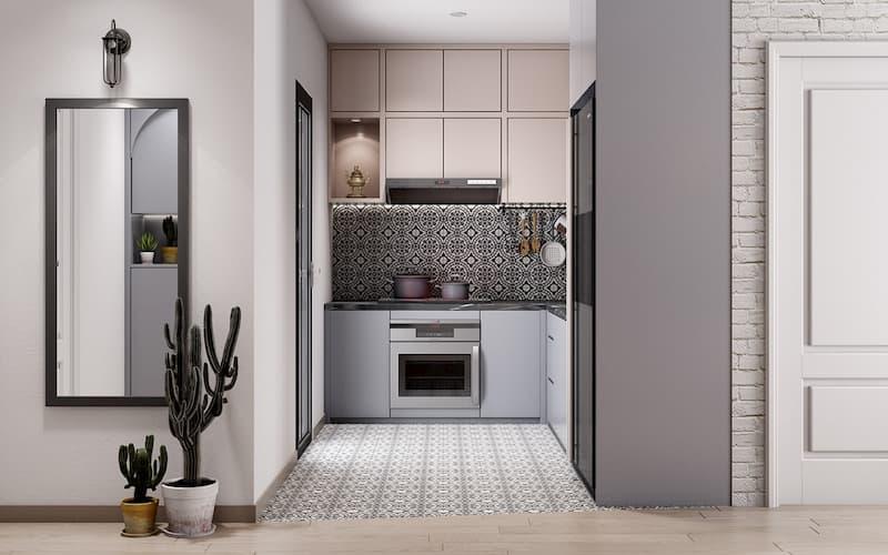 50 Mẫu nhà bếp nhỏ đẹp dành cho nhà ống, căn hộ chung cư 1