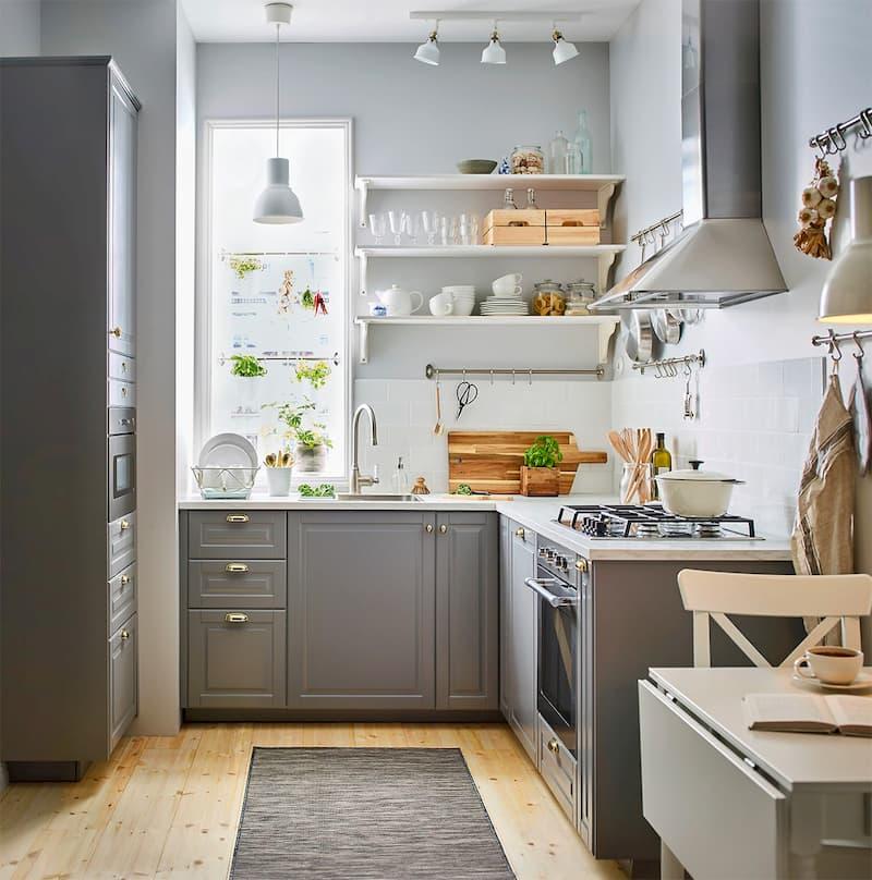 50 Mẫu nhà bếp nhỏ đẹp dành cho nhà ống, căn hộ chung cư 24