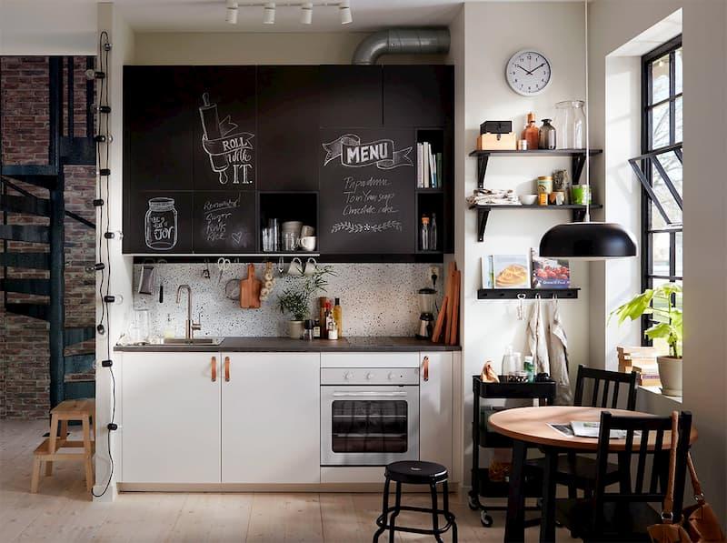50 Mẫu nhà bếp nhỏ đẹp dành cho nhà ống, căn hộ chung cư 25
