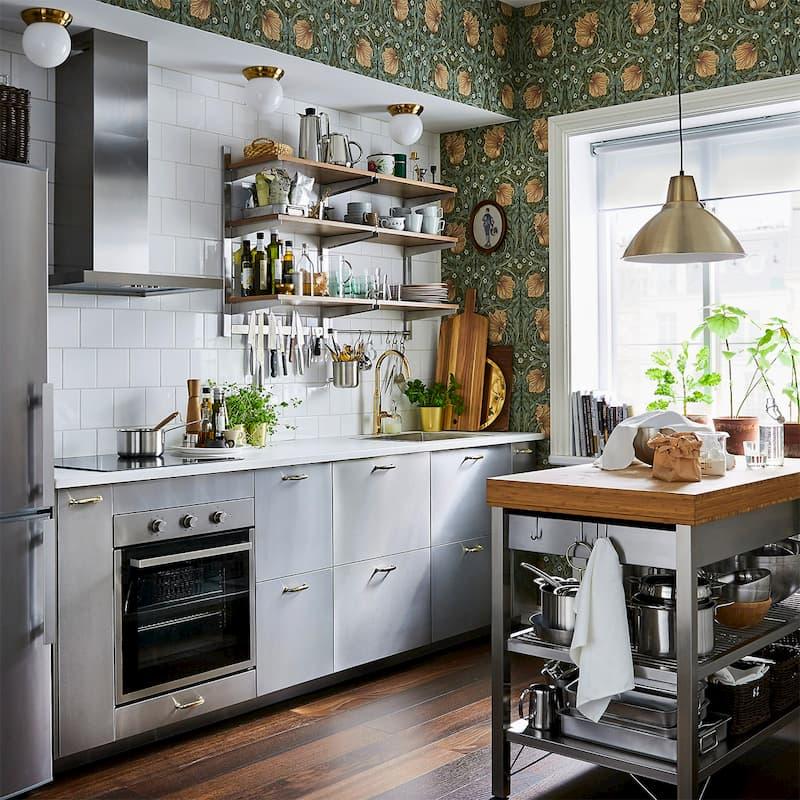 50 Mẫu nhà bếp nhỏ đẹp dành cho nhà ống, căn hộ chung cư 26