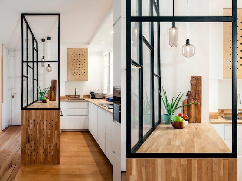 50 Mẫu nhà bếp nhỏ đẹp dành cho nhà ống, căn hộ chung cư 30