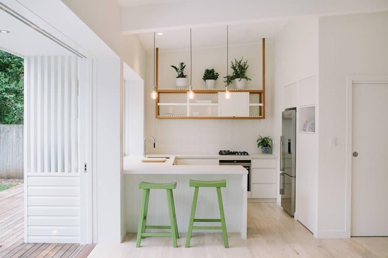 50 Mẫu nhà bếp nhỏ đẹp dành cho nhà ống, căn hộ chung cư 35