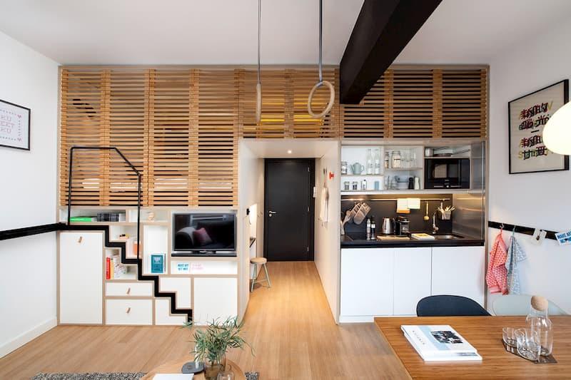 50 Mẫu nhà bếp nhỏ đẹp dành cho nhà ống, căn hộ chung cư 40