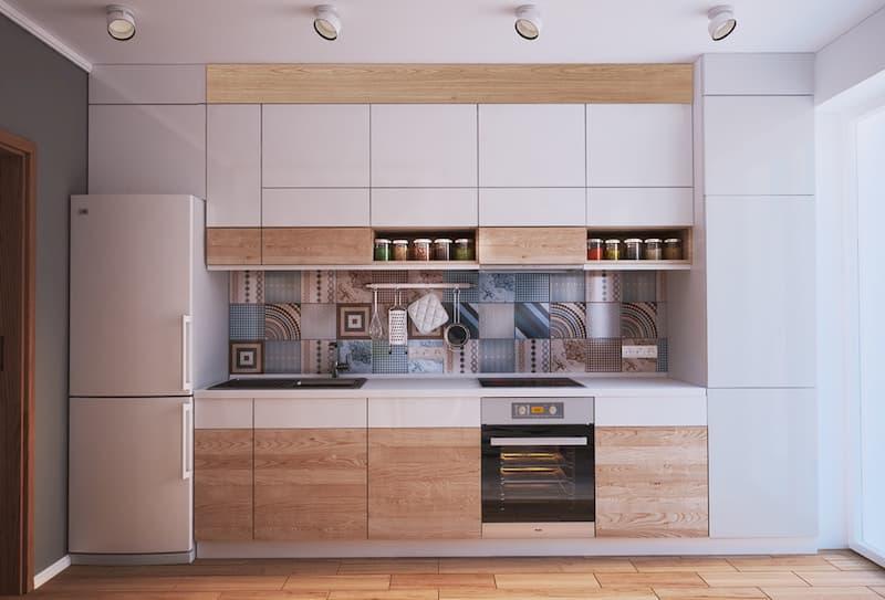 50 Mẫu nhà bếp nhỏ đẹp dành cho nhà ống, căn hộ chung cư 42