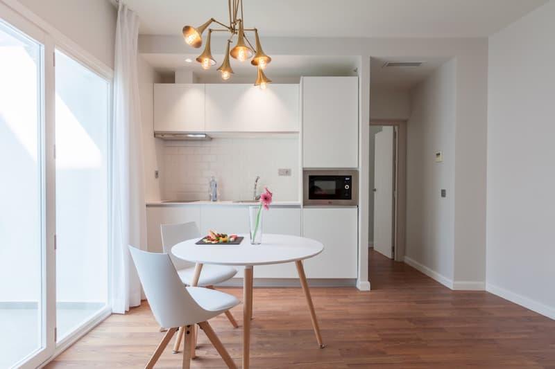 50 Mẫu nhà bếp nhỏ đẹp dành cho nhà ống, căn hộ chung cư 45