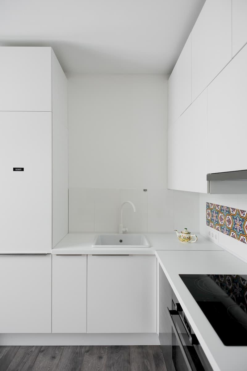 50 Mẫu nhà bếp nhỏ đẹp dành cho nhà ống, căn hộ chung cư 6