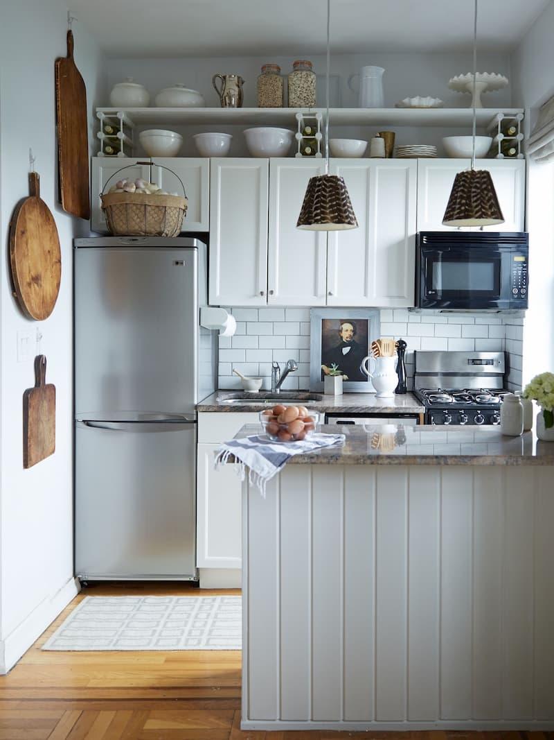 50 Mẫu nhà bếp nhỏ đẹp dành cho nhà ống, căn hộ chung cư 9
