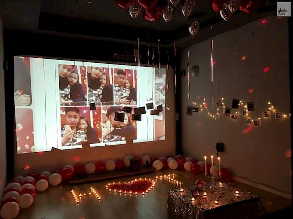 Tỏ tình trong cafe phim 3D