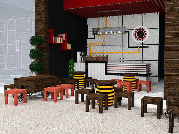 Tư vấn với kiến trúc sư và đơn vị thiết kế để decor quán cafe đẹp hơn