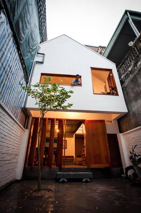 """""""Lượm nhặt"""" những ý tưởng thiết kế nhà phố 2 tầng tinh túy nhất 10"""