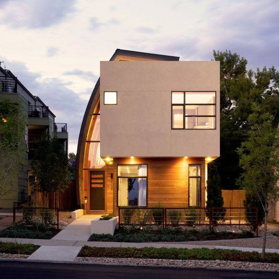 """""""Lượm nhặt"""" những ý tưởng thiết kế nhà phố 2 tầng tinh túy nhất 16"""