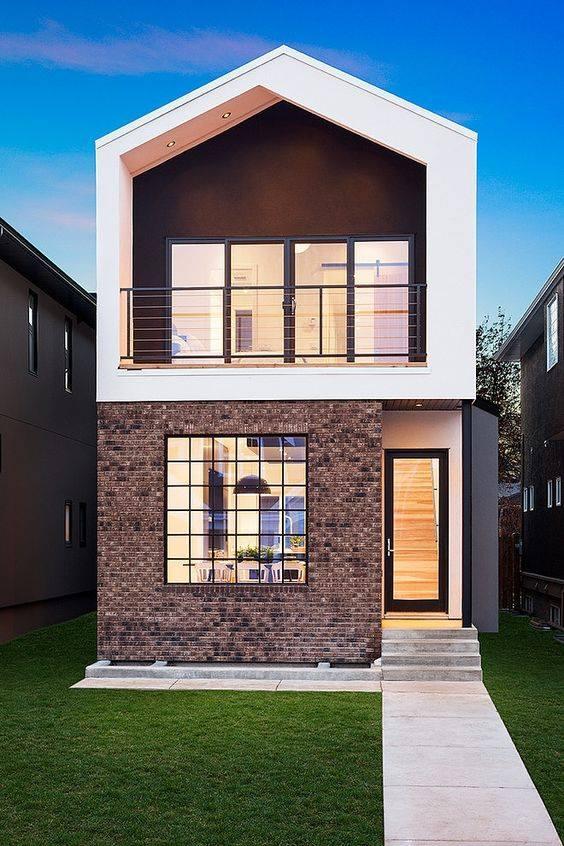 """""""Lượm nhặt"""" những ý tưởng thiết kế nhà phố 2 tầng tinh túy nhất 22"""